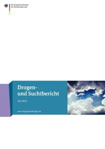 Drogen- und Suchtbericht 2014  (BMG, Juli 2014)
