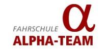 Logo der Fahrschule Alpha-Team (Münster)