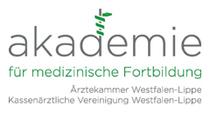 Logo der Akademie für medizinische Fortbildung (Münster)