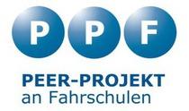 Logo vom PEER-Projekt an Fahrschulen (Magdeburg)