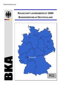 Rauschgiftjahresbericht 2000 (BKA, 2000?)