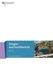 Drogen- und Suchtbericht 2013  (BMG, Mai 2013)