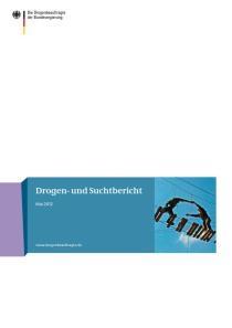 Drogen- und Suchtbericht 2012  (BMG, Mai 2012)