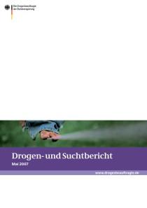 Drogen- und Suchtbericht 2007  (BMG, Mai 2007)
