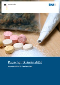 Rauschgiftkriminalität – Bundeslagebild 2017 – Tabellenanhang (BKA, 23.05.2018)